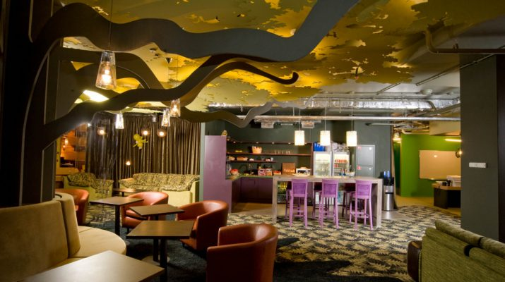 office interior decor Office interior decor: GOOGLE´s Moscow Office GoogleMoscow7011 715x400