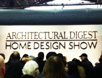 Celebrate Design at Architectural Digest Home Design Show 2013 AD SHOW 345x265