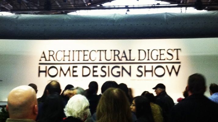 Celebrate Design at Architectural Digest Home Design Show 2013 AD SHOW 715x400