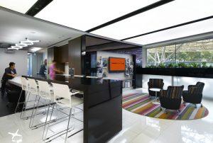 M Moser Associates interior design office in Singapure M Moser Associates offices Singapore 300x202