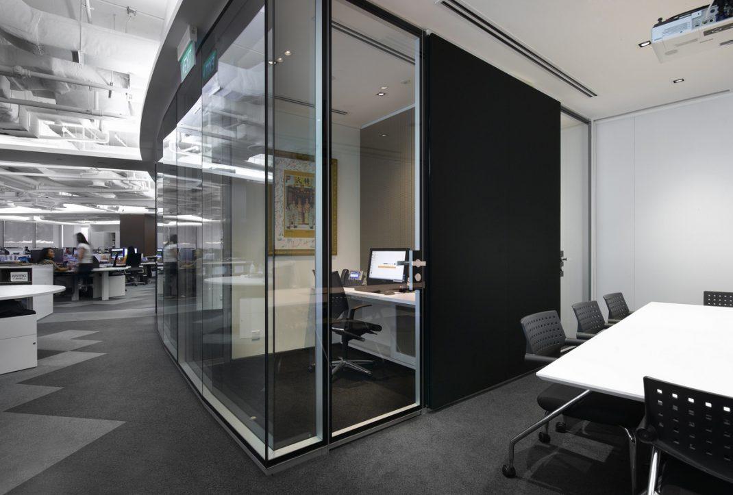 M Moser Associates Interior Design Office In Singapure