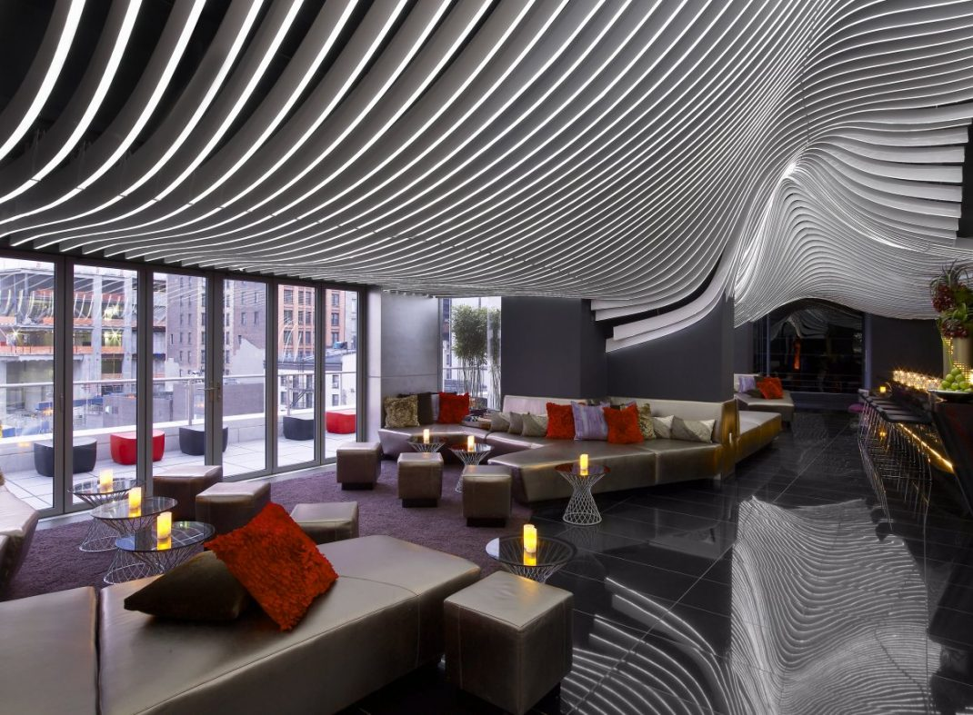 Living Room Bar And Terrace Living Room Bar W Hotel New York Living Room 2017