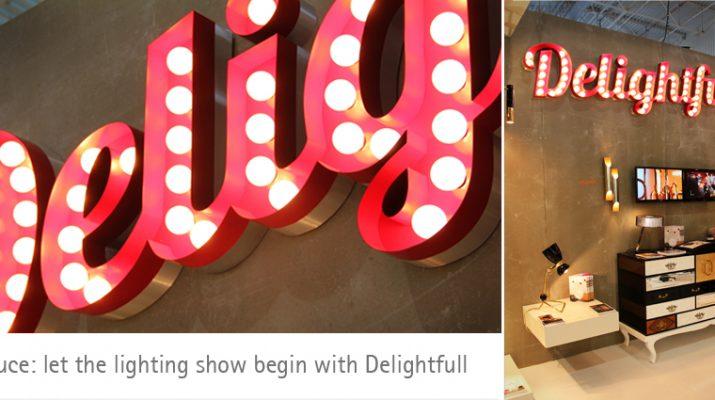 Let the lighting show begin with Delightfull – EUROLUCE 2013 Banner Portugal Brands4 715x400