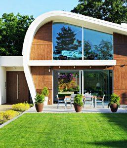 The House 04 project in Croatia by Helena Arbutina Garden 257x300