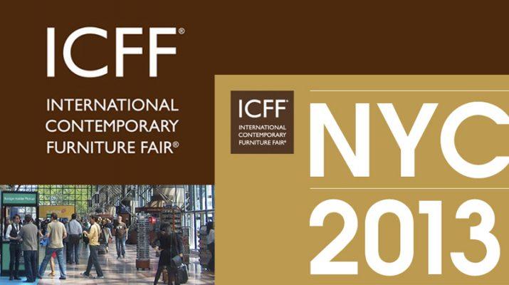 ICFF 2013 – International Contemporary Furniture Fair – Sneak Peek  SliderICFF 715x400
