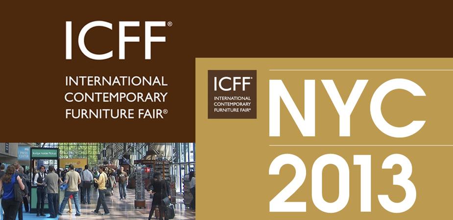 ICFF 2013 - International Contemporary Furniture Fair - Sneak Peek