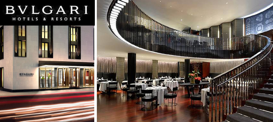 Bvlgari hotel london best design projects for Top design hotels london