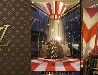 Louis Vuitton windows at Bond Street –  London SliderLV 345x265