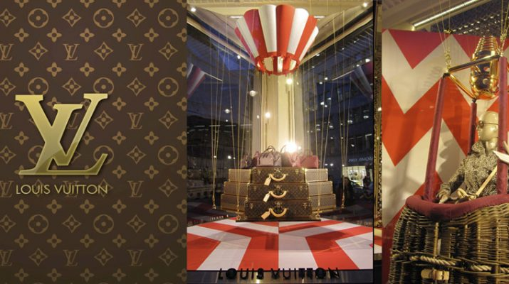 Louis Vuitton windows at Bond Street –  London SliderLV 715x400