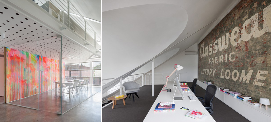 Colorfull Studio by Clare Cousins Architects, Melbourne