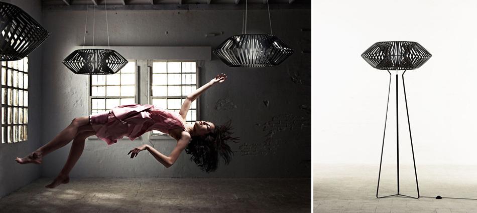 "The ""V Lamp"" designed by Héctor Serrano"