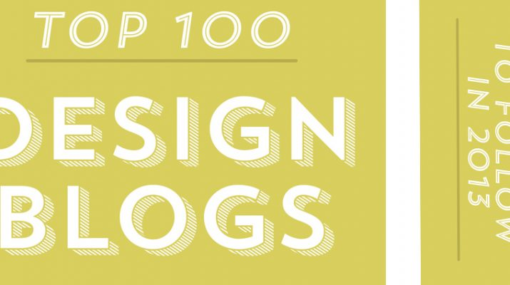 Design Blogs To Follow In 2013 Blogs to follow 715x400