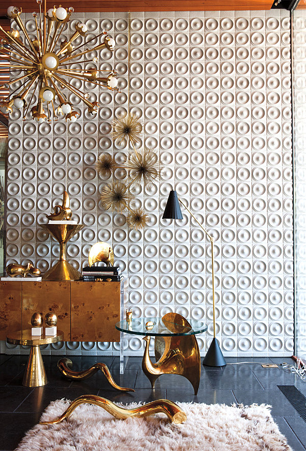 6 color ideas for Interiors 6 color ideas for Interiors Modern residential interior: 6 color ideas for Interiors Brass finds from Jonathan Adler 1