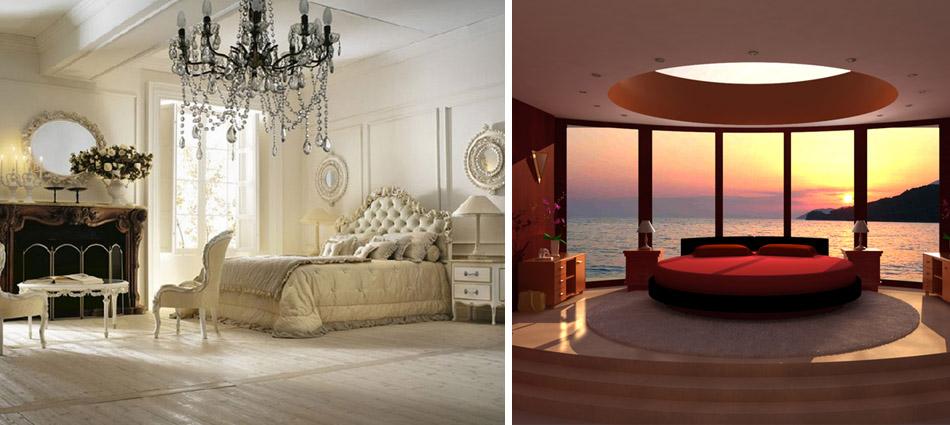 Luxury Bedrooms - Romantic Ideas