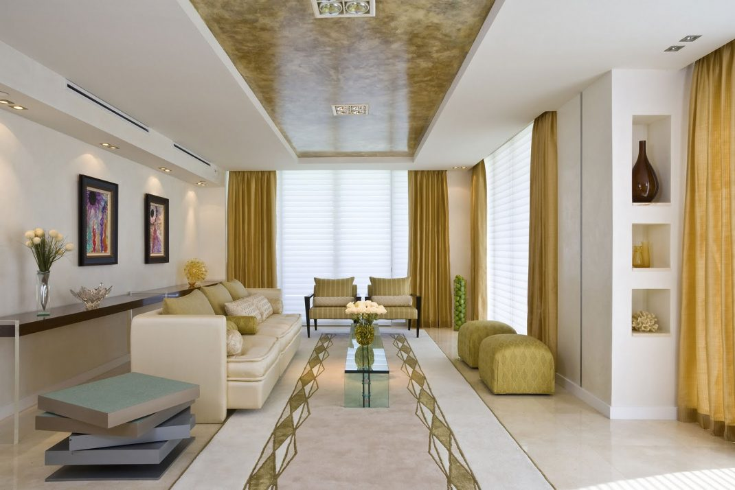 Monochromatic Living Room Decor Modern Residential Interior 6 Color Ideas For Interiors