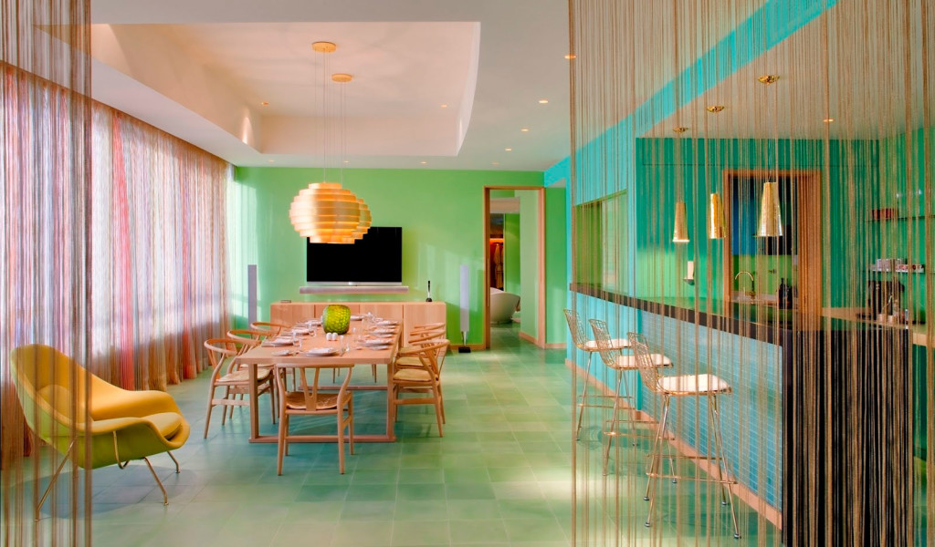 Terrace Dining Room As Section Of Hotel Missoni In Kuwait City And Related With Contemporary Interior 20 1024x600