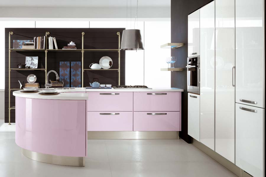 Modern-violet-and-pink-kitchen-by-Cucine-Lube-3   Best Design Projects