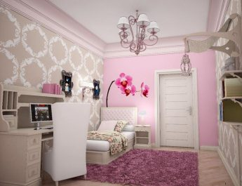 Best decoration Projects with … Pink Pink and Sweet Flower Wallpaper for Walls 345x265