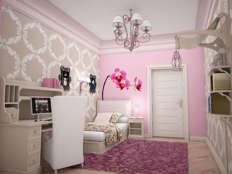 Pink-and-Sweet-Flower-Wallpaper-for-Walls