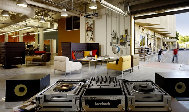 facebook-office-lounge | best design projects