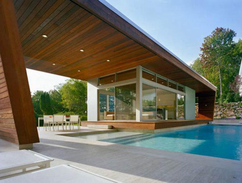 Best Luxury Residential Swimming Pool House By Hariri And Hariri Interior Design Giants