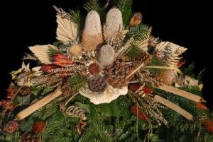 3853135-floral-arrangement-with-dried-flowers-and-pine-needles 3853135 floral arrangement with dried flowers and pine needles 300x201