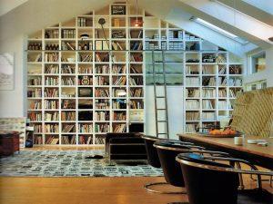 Decorating-Built-In-Bookshelf-Ideas Decorating Built In Bookshelf Ideas 300x225