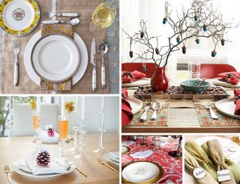 8 Traditional Thanksgiving Decorating Ideas Thanksgiving table decorations 1024x750 345x265