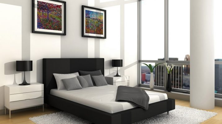 Modern residential interior: 6 color ideas for Interiors (PART II) bedroom interior design wallpaper 715x400