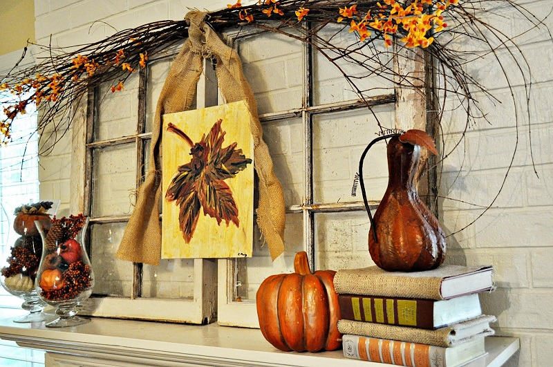 Thanksgiving Fireplace Mantel Decoration southnextus – Thanksgiving Mantel Decorations