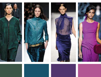 Interior design secrets: FALL FASHION TRENDS MEET HOME TRENDS fw 13 14 cool 1 fashion color trends3 345x265