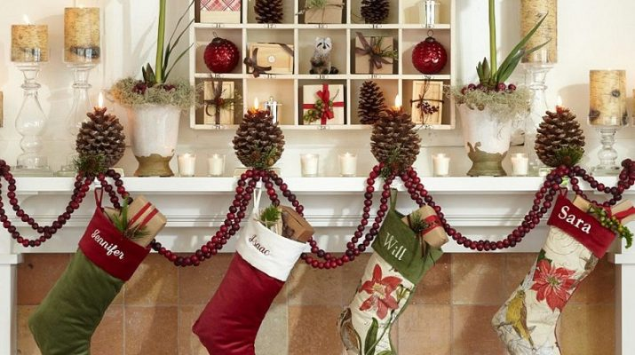 Christmas Decor Ideas Christmas Decor Ideas by ELLE DECOR others cool fireplace decoration for christmas simple table decorations for christmas 715x400