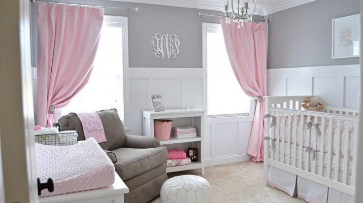 2014 Baby Room Color Trends 2014 Baby Room Color Trends Avas Sweet and Gray 715x400