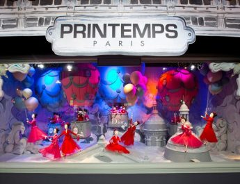 Christmas Wonderland: 10 Windows Displays You Must See Dior Printemps Christmas Windows 011 345x265