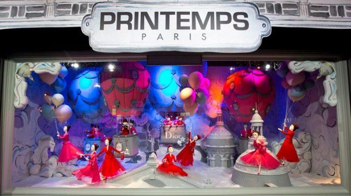 Christmas Wonderland: 10 Windows Displays You Must See Dior Printemps Christmas Windows 011 715x400