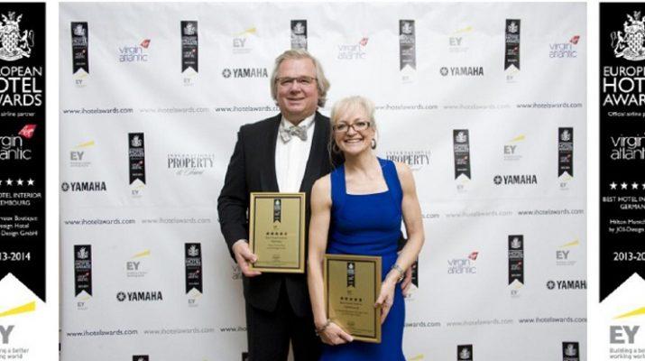 BEST HOTEL INTERIOR: JOI-Design has won two European Hotel Awards EuropeanHotelAwards 2013 JOI Design CK PJ Kopie 715x400