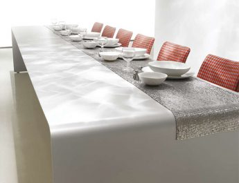 6 Modern Dining Tables for Christmas tabletop idea mdf italia 345x265