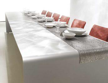 6 Modern Dining Tables for Christmas tabletop idea mdf italia 345x265