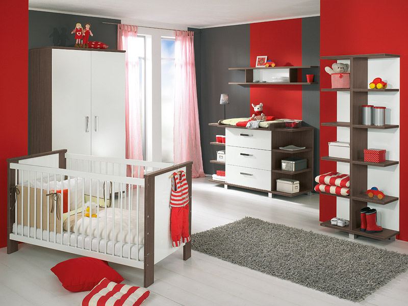 Baby Room Furniture Design Ideas Baby Room Furniture Design Ideas white and wood baby nursery furniture sets by Paidi 1