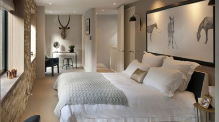 Luxurious Mews House: Interior Renovation in London 8 Mews House bedroom 715x400