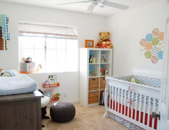 Best Decoration to Baby Rooms contemporary kids1 345x265