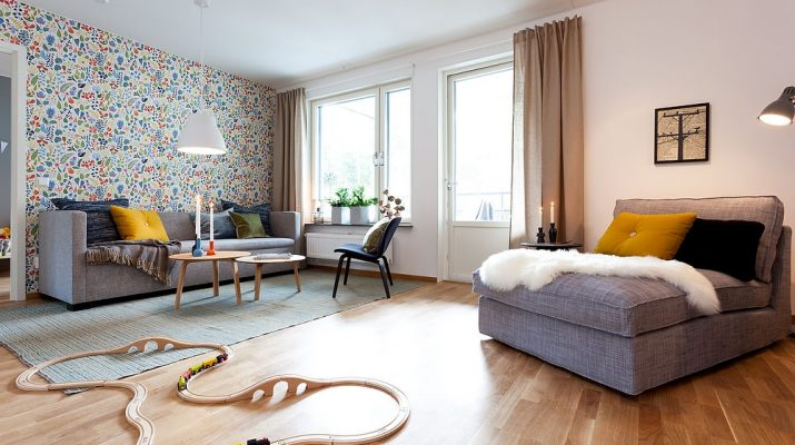 The Best Home Decoration Projects of 2014 f5008  Chic 3 room apartment in Gustavsberg Sweden 1 715x400