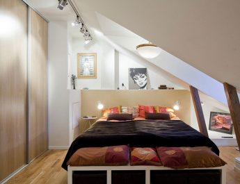 Improve your Home: How to do Small bedrooms look bigger? small bedroom attic 345x265