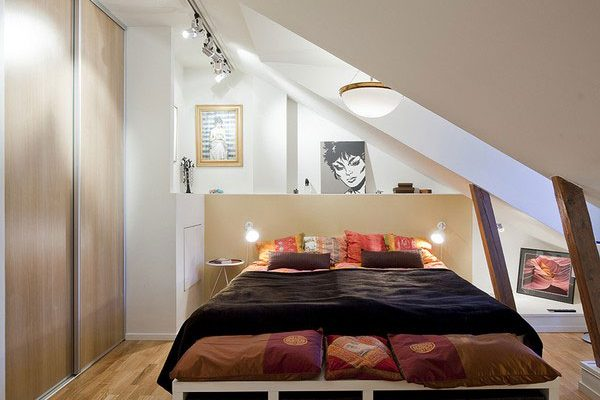 Improve your Home: How to do Small bedrooms look bigger? small bedroom attic 600x400