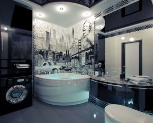 American-themed-mural-bathroom-Best-bathrooms-decor-of-the-world-design-in-vogue-trends  American-themed-mural-bathroom-Best-bathrooms-decor-of-the-world-design-in-vogue-trends American themed mural bathroom Best bathrooms decor of the world design in vogue trends 300x241