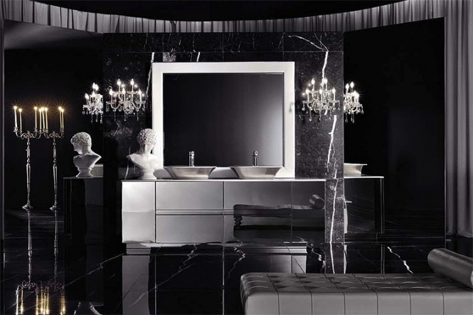 Italian Style Black Bathroom Best Bathrooms Decor  Of The World Design In Vogue Trends Part 93