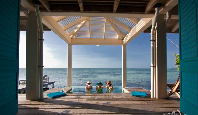 cayo espanto  Top 10 Most Expensive Resorts in the World feature image1 690x400
