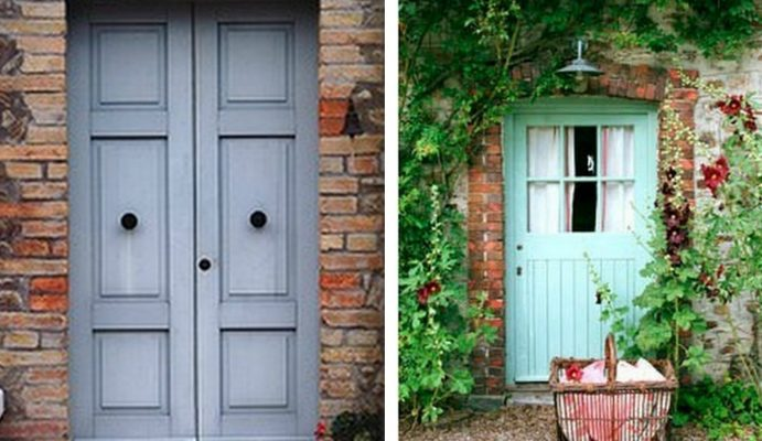 front-doors-2  6 UNUSUAL HUES FOR PAINTING YOUR FRONT DOOR front doors 2 691x400