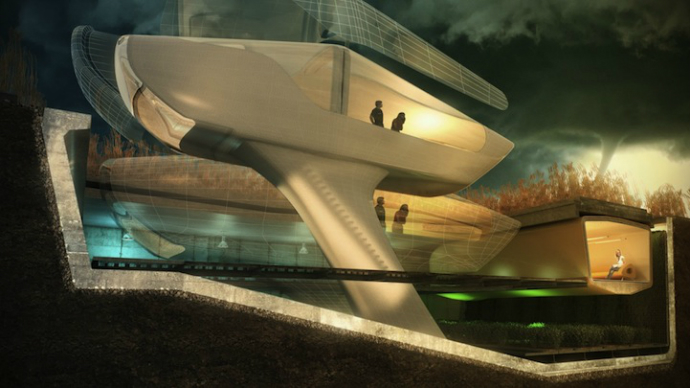 Futuristic House Designs 4