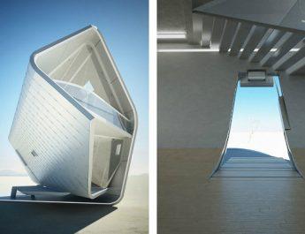 5 Stunning Futuristic House Designs  futuristic house designs 5 345x265